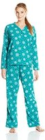Hanes Women's Heavenly Soft Pajama Set