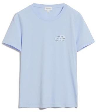 Armedangels Lidaa Small Elements T Shirt - LIDAA SMALL ELEMENTS / Small / Pure Blue Off White