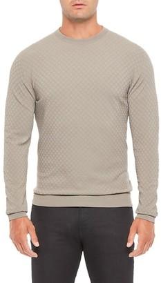 Giorgio Armani Textured Knit Sweater