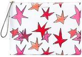 Lanvin drawn stars clutch bag