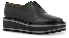 Clergerie Women's Bennie Slip On Platform Flats