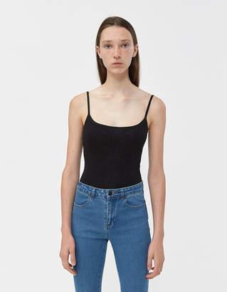 Laura Urbinati Lurex Bodysuit in Black