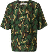 Palm Angels camouflage T-shirt