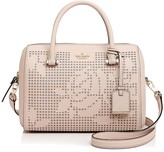 Kate Spade Cameron Street Perforated Lanes Large Leather Satchel