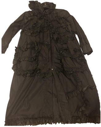 MONCLER GENIUS Moncler n4 Simone Rocha Green Trench Coat for Women