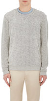 ATM Anthony Thomas Melillo Men's Reverse French Terry Sweatshirt-GREY
