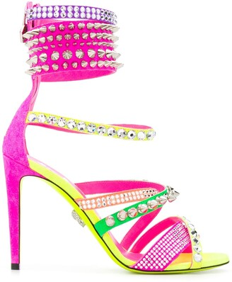 Philipp Plein Studded Gladiator Sandals