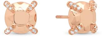 Conges Golden Collection Round Stud Earrings