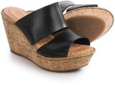 Børn Adria Wedge Sandals - Leather (For Women)
