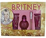 Britney Spears FANTASY by EAU DE PARFUM SPRAY 1.7 OZ & BODY SOUFFLE 1.7 OZ & SHOWER GEL 1.7 OZ & EAU DE PARFUM SPRAY .33 OZ