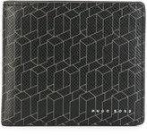 HUGO BOSS linear print cardholder - men - Leather - One Size