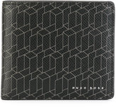 HUGO BOSS linear print cardholder