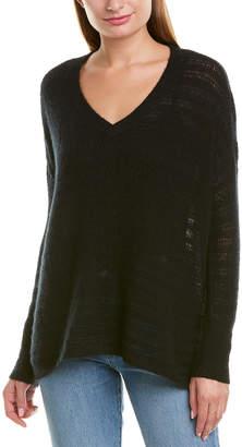 Minnie Rose Boyfriend Cashmere & Silk-Blend Sweater