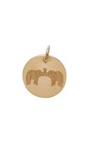 Emily and Ashley Double Elephant Charm