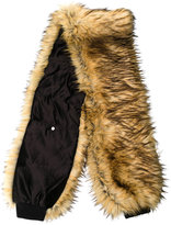 Filles a papa synthetic fur scarf