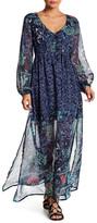 Billabong Dreaming Away Floral Printed Maxi Dress