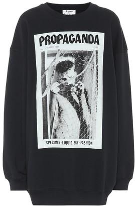 Acne Studios Propaganda Magazine cotton sweatshirt