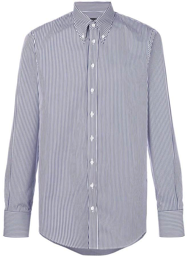 DSQUARED2 striped long sleeve shirt