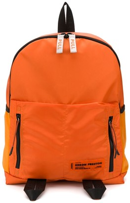 Heron Preston Round Zip Backpack