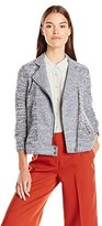 Lucky Brand Women's Textured Moto Jacket