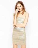 Rare Metallic Bandage Dress
