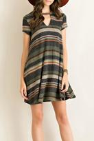 Entro Fall Stripes Dress