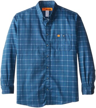 Riggs Workwear Men's Big & Tall Flame Resistant Lightweight Button Closure Woven Shirt