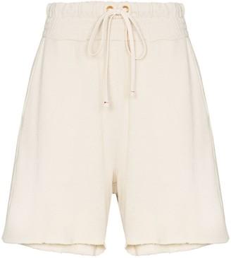 LES TIEN Yacht cotton shorts