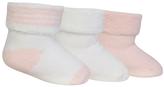 Polo Ralph Lauren White & Pink Socks - Set of Three - Infant