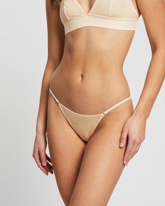 Heidi Klum Intimates Gloss Bar Bikini Briefs