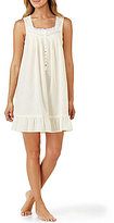 Eileen West Lace-Embroidered Nightgown