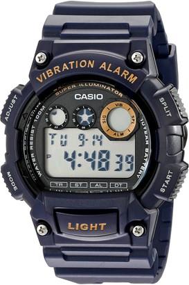 Casio Men's W735H-2AVCF Super Illuminator Blue Watch
