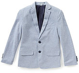 Class Club Big Boys 8-20 Pique Notch Lapel Jacket