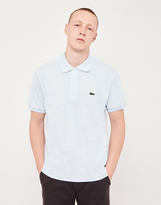 Lacoste Short Sleeve Polo Shirt Blue