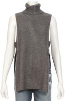 Autumn Cashmere Shaker Sitich Open Side Sleeveless Sweater