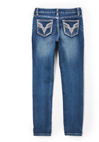 Vigoss Medium Wash Five-Pocket Straight-Leg Jeans - Girls