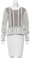 Vanessa Bruno Patterned Knit Sweater w/ Tags