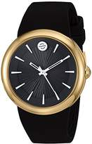 Philip Stein Teslar ' Japanese Quartz Stainless Steel and Silicone Watch