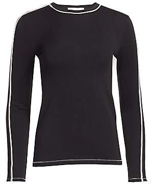 Rag & Bone Women's Slim-Fit Sporty Long-Sleeve Tee