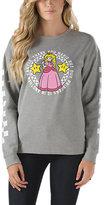 Vans Nintendo Princess Castle Crew Sweatshirt