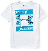 Under Armour Big Boys 8-20 Double Decker Short-Sleeve Tee