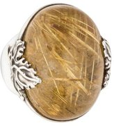 Stephen Dweck Rutilated Quartz Cocktail Ring