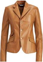 Ralph Lauren Alastair Nappa Leather Jacket