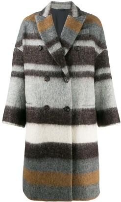Brunello Cucinelli Double Breasted Coat
