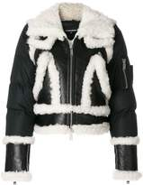 DSQUARED2 shell-panelled jacket