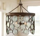 Pottery Barn Emery Indoor/Outdoor Recycled Glass Chandelier