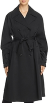 Donna Karan Double-Breasted Trench Coat