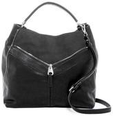 Urban Expressions Sawyer Vegan Leather Shoulder Bag