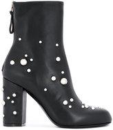 Premiata studded heel ankle boots