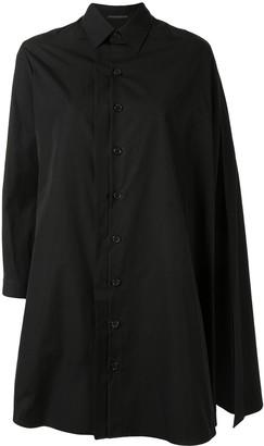 Yohji Yamamoto Cape-Detail Shirt